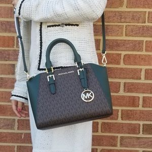 NWT Michael Kors Ciara Satchel Crossbody Bag
